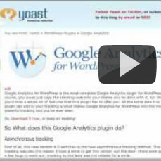 Google Analytics for WordPress Plugin Vulnerability