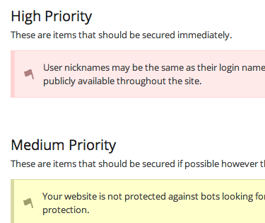 Configure priority rules in iThemes Security Pro
