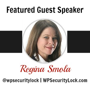 Regina Smola, Featured Guest Speaker